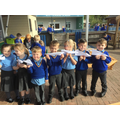 We made aeroplanes!