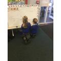 ...but we're beginning to enjoy practising our writing!