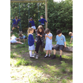 On our first day back, we enjoyed 'catching up' with our friends.