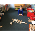 We've loved using cardboard cylinders...