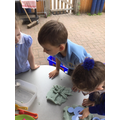 ..and recreated their form using play dough.
