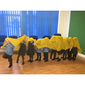 We even learned how perform a 'dragon dance'!