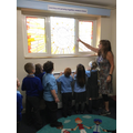 We visited our Prayer Room...