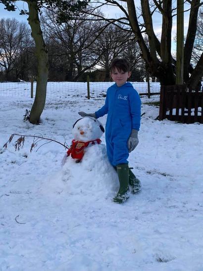 Daithi snowman