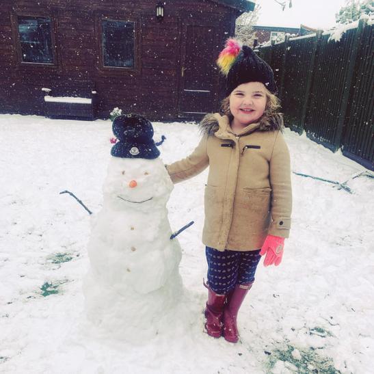 Orla's snowman