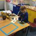 ...we used natural materials to create our own representations.