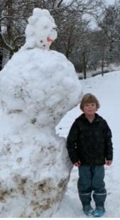 The worlds biggest snowman?!