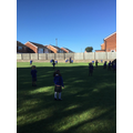 ...and had a 'runaround' on our school field!