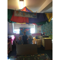 Our Hot Air Balloon role play area.