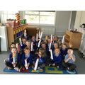 We began our learning about The Paschal Candle.