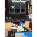 Your children have LOVED our outdoor reading area!