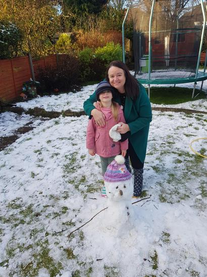 Ava's snowman