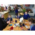 Creating rockets using recycling