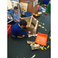 We worked collaboratively to construct The Titanic!