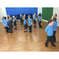 Learning how to dance 'Strictly-Style'!