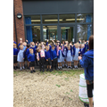 We finally told them we loved them and waved them 'Farewell'!