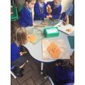 We had play dough!!!