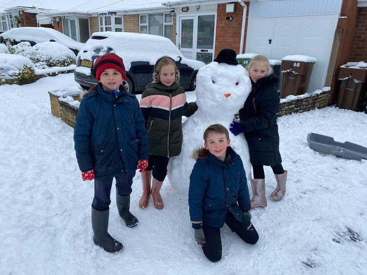 Finlay's family of five!