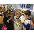 We're REALLY enjoying our Weddings role play area!