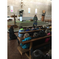 We learned about The Paschal Candle.