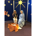 Baby Jesus, the Son of God, is born.