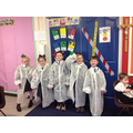 Our first set of scientists!