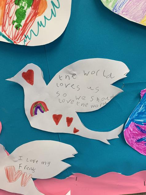 """""""The world loves us, so we should love the world"""""""