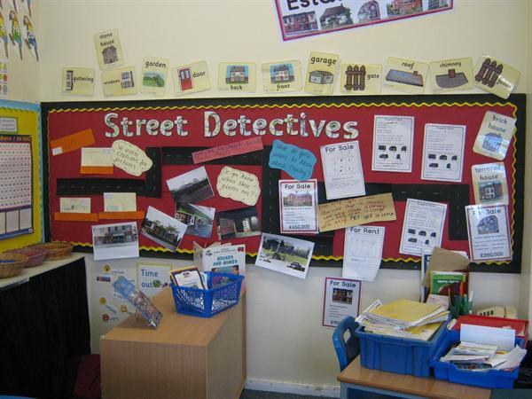 Street Detectives Display