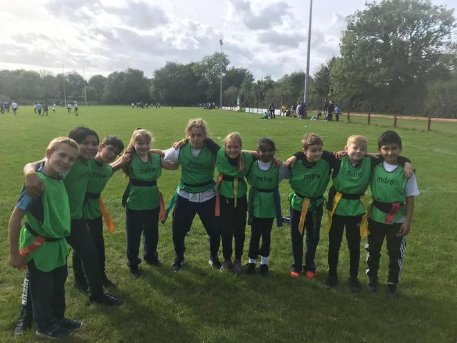 Year 5 rugby team 2019