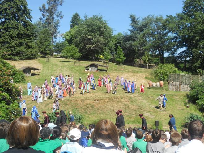 Life of Christ performance at Wintershall