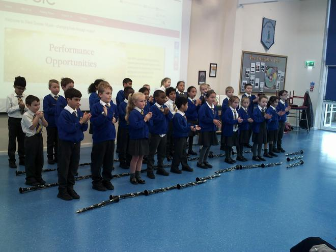 St Francis Class following the Pulse.