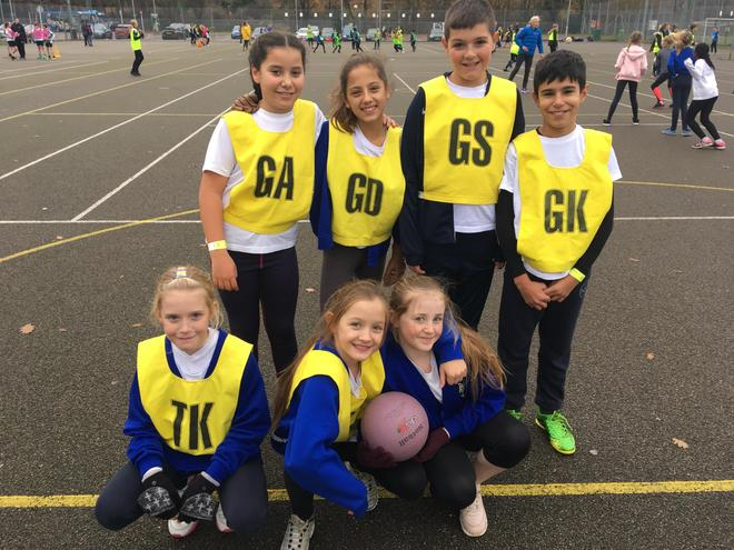 3rd Place winners - Netball 2019