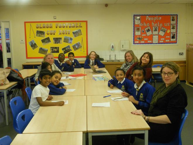 RE council meet with staff and governors