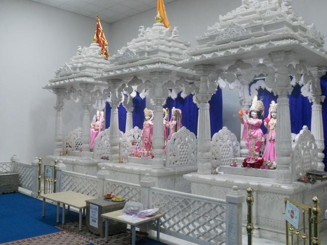 Visiting the Hindu Temple