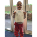 Year 1 expressed themselves through their colour choices
