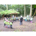 We visited Leigh Woods to see the Iron Age Fort.
