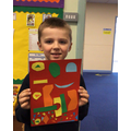 Year 2 expressed themselves through Art