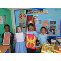 We made a villa, swords and wrote about Rome.