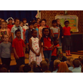 We sang African playground songs.