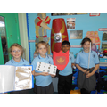 We made swords,shields,bread and coins.