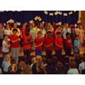 We sang Native American songs.