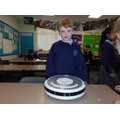 Reece brought in his Roomba robot hoover.