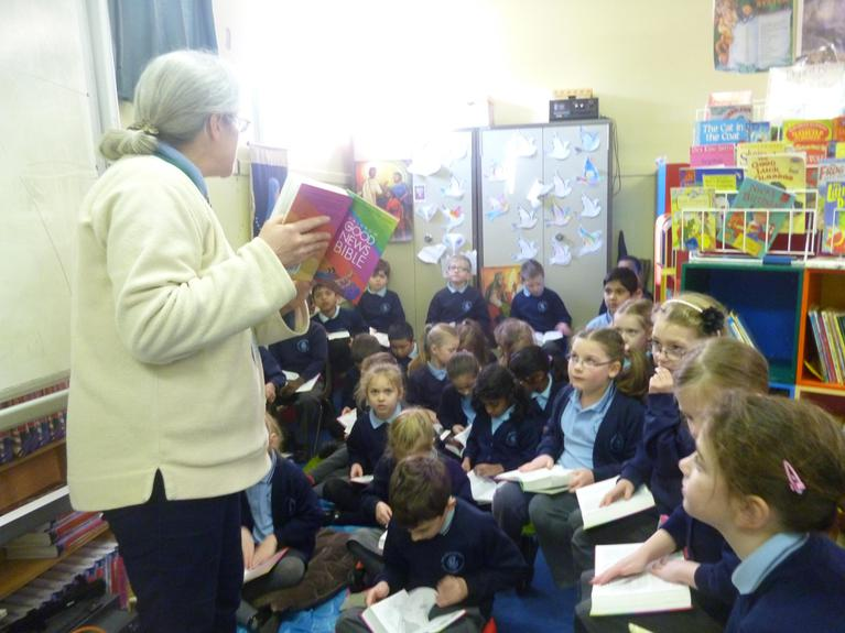 We read from Saint Luke's gospel
