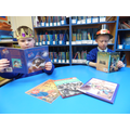 We read books.