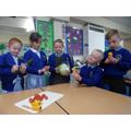 Investigating a range of vegetables.
