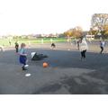 P.E. activity- Kicking