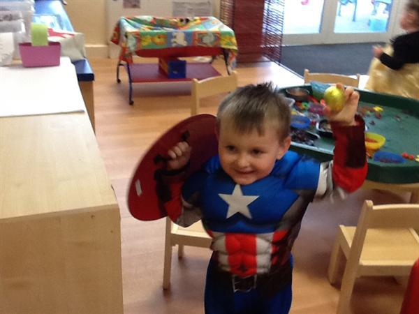 End of term superhero and princess party!