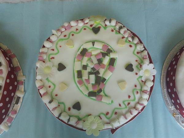 Our winning cake.