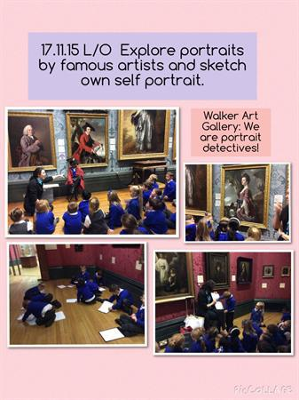 Education visit to Walker Art Gallery.