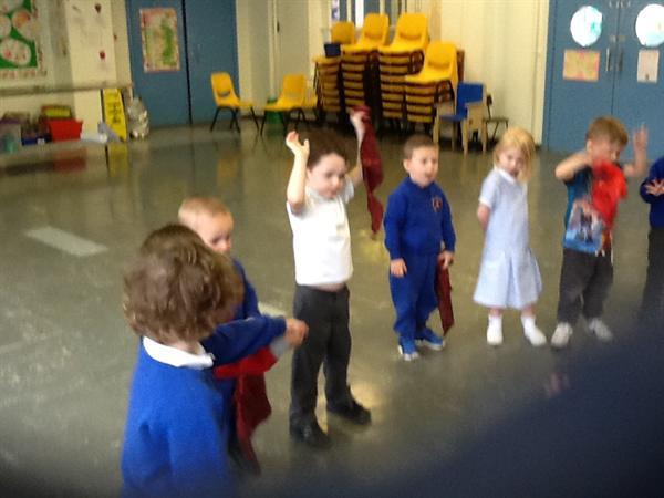 We took part in Bollywood dancing for Indian week!
